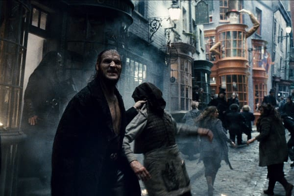 Dave Legeno in Harry Potter
