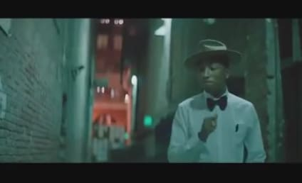 """Pharrell's """"Happy"""" Music Video With No Music Is, Well, Still Happy"""