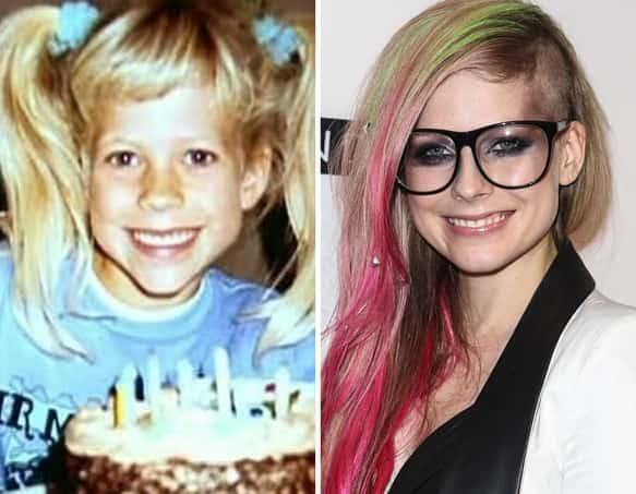 Avril Lavigne as a Kid