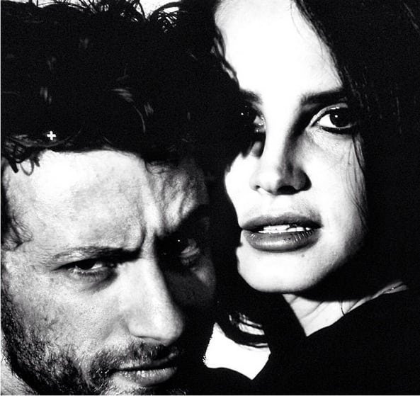 Lana Del Rey and Francesco Carrozzini