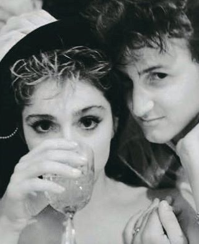 Madonna and Sean Penn Wedding Photo