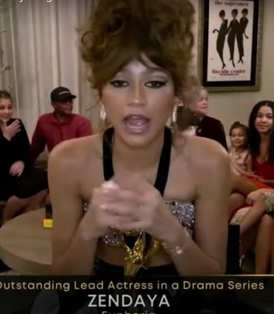 Zendaya gana un Emmy por Euphoria