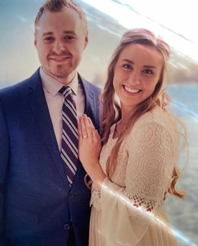 Jed Duggar and Katie Nakatsu Engagement Photo