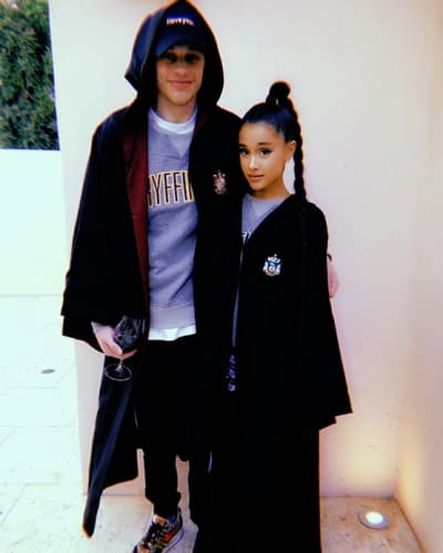 Ariana Grande and Pete Davidson, Harry Potter