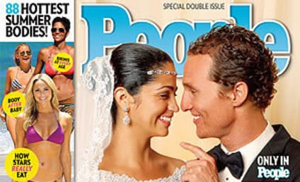 Matthew McConaughey and Camila Alves Wedding Picture: Revealed!