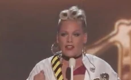 Pink Sends Inspiring Message to Daughter, Women Around the World at VMAs