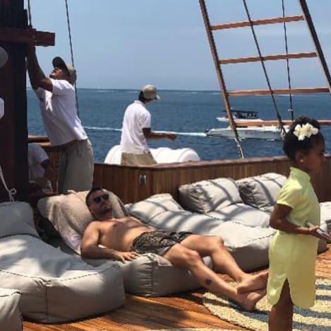 Scott Disick in Bali