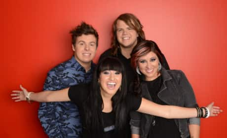 Which member of the American Idol Top 4 put on the best performance?