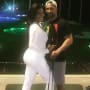 Kenya Moore and Marc Daly, Date Night