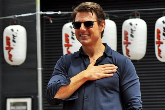 Tom Cruise in Japan