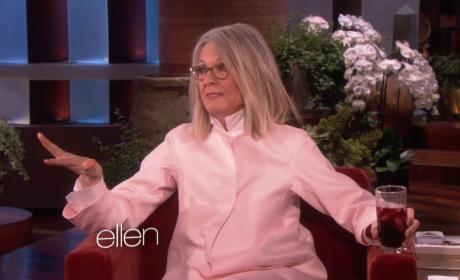 Diane Keaton: Drunk on Ellen!