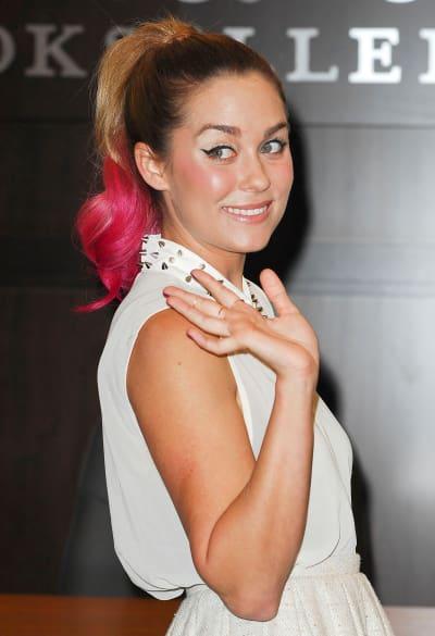 Lauren Conrad's Pink Hair