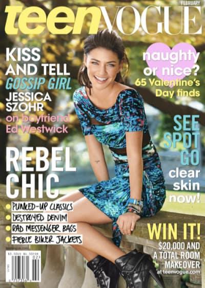 A Teen Vogue Cover Girl