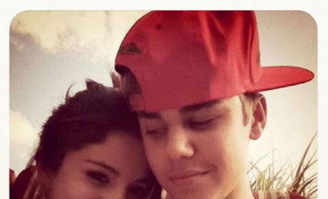 Selena and Justin Instagram