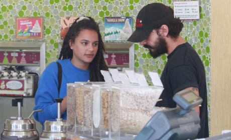 Shia LaBeouf and New Girlfriend