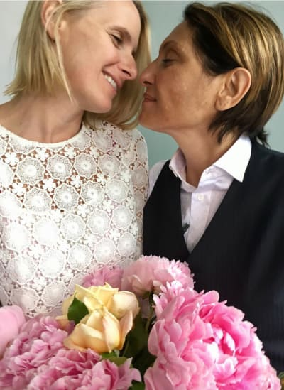 Elizabeth Gilbert and Rayya Elias