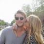 Anderson East and Miranda Lambert Kiss Outdoors