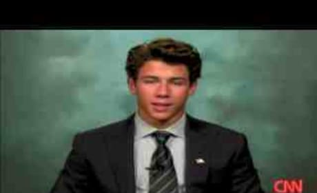 Nick Jonas on CNN