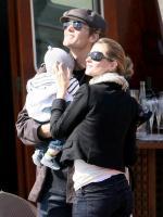 Tom, Gisele and a Son