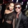 April Love Geary and Robin Thicke, All Dressed Up