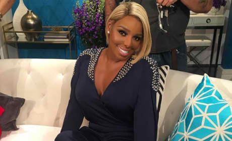 NeNe Leakes on the Couch