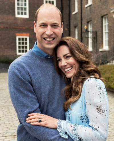 Prince William and Kate Middleton at 10 Years