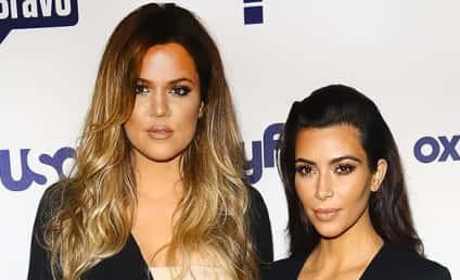 "Khloe Kardashian: ""Hopping"" Between Kim Kardashian, Lamar Odom Hospital Rooms!"