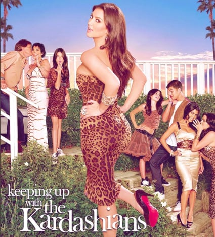 Keeping Up with the Kardashians poster 1