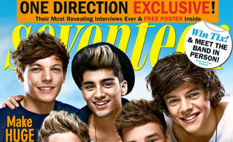 One Direction Seventeen Cover