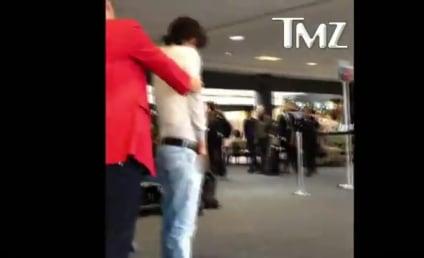 VIDEO: Bronson Pelletier Urinates in Airport!