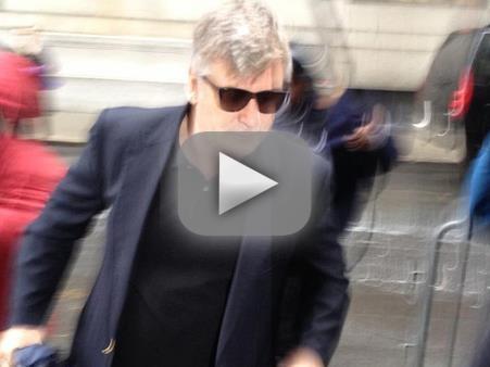 Alec Baldwin Arrives in Court