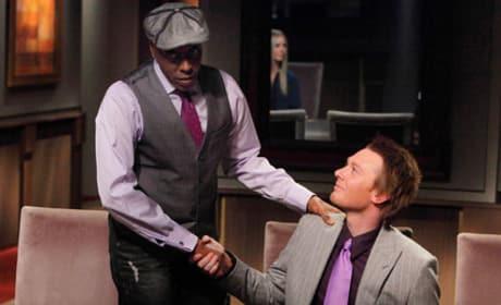 Arsenio Hall and Clay Aiken