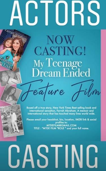 Farrah movie casting