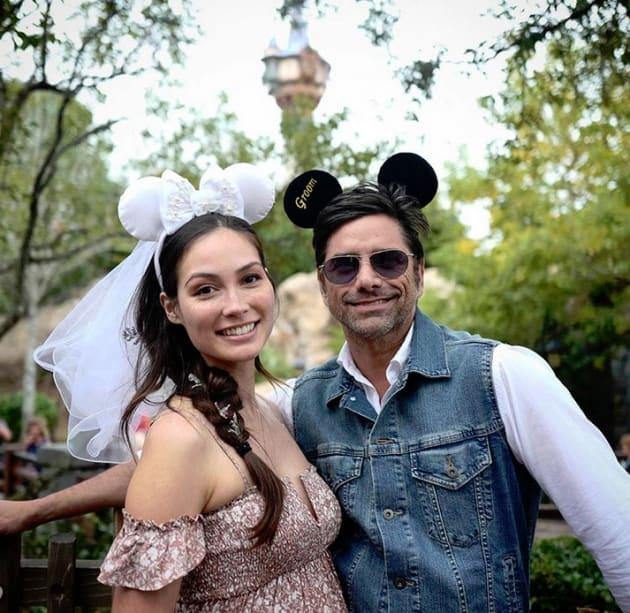John Stamos and Caitlin McHugh, Disney Wedding