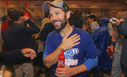 Paul Rudd Celebrates Kansas City Royals World Series Win
