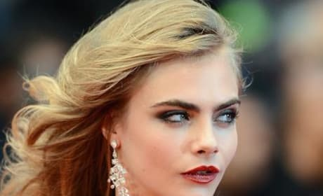 Cara Delevingne Auditions For Fifty Shades of Grey