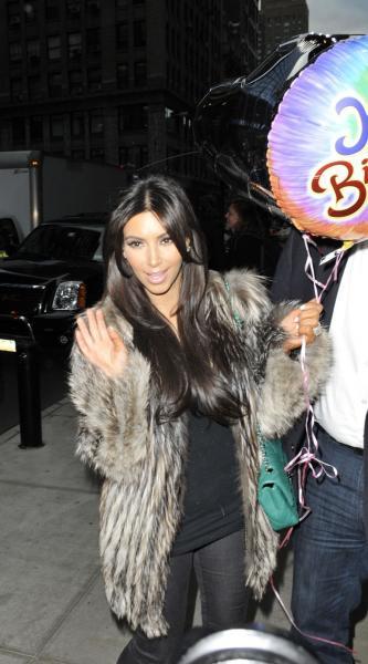 Kim Kardashian Birthday Pic