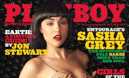 Sasha Grey Covers Playboy, Goes Mainstream