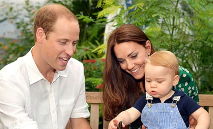Prince George: Fascinated By Butterflies in Adorable New Photos