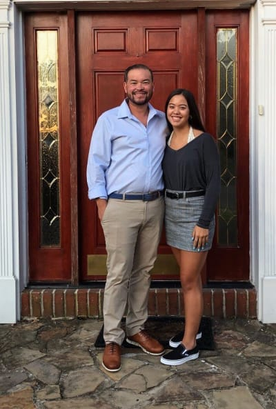 Jon Gosselin and Hannah Gosselin, First Day of High School