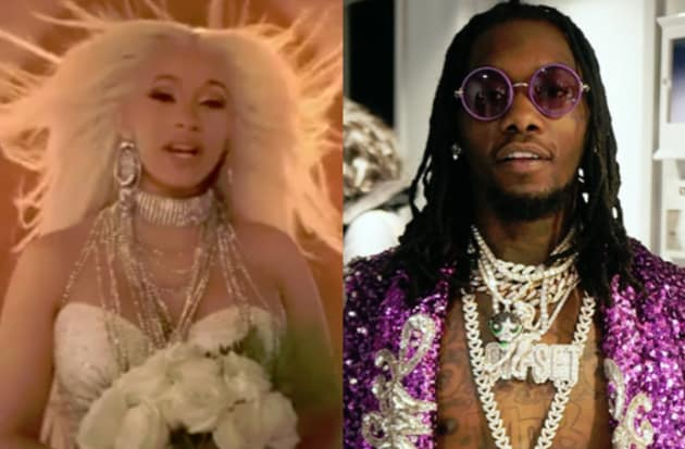 Cardi B Confirms She Married Offset In September: Cardi B And Offset: Married!