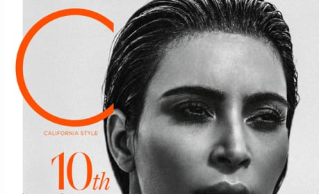 Kim Kardashian C Magazine Cover