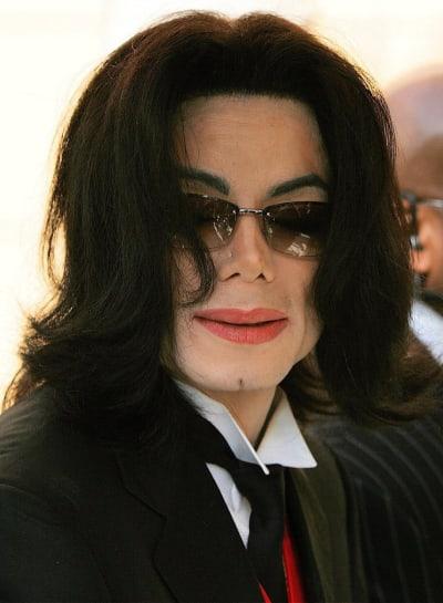 Michael Jackson Trial Pic