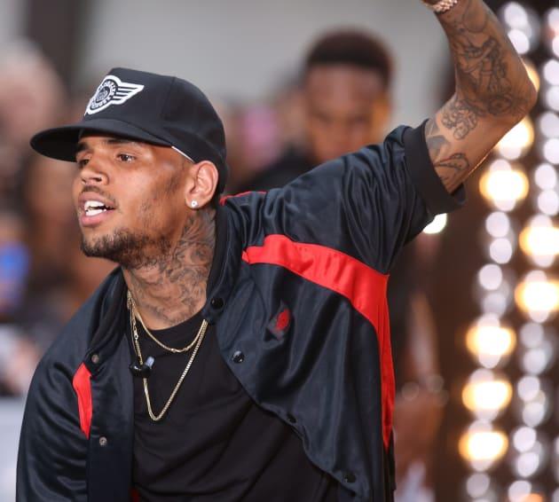 Chris Brown Concert Image