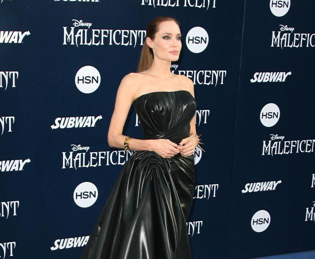 Angelina Jolie at Maleficent Premiere