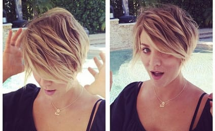 Kaley Cuoco Chops Off MORE Hair, Debuts Pixie Cut: Love It or Hate It?