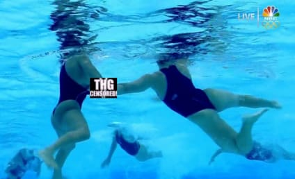 NBC Water Polo Malfunction: Nipple Slip Alert!
