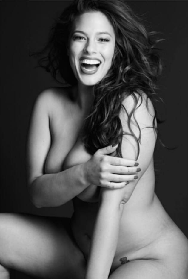 Has ashley graham ever been nude