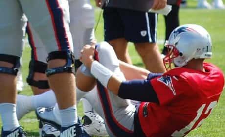 Tom Brady Knee Injury