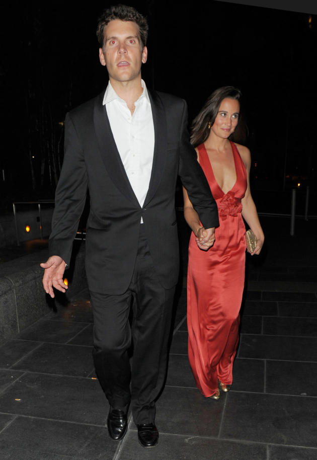 Pippa Middleton and Alex Loudon